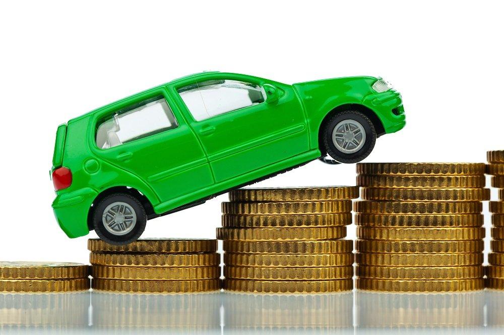 auto na monetach